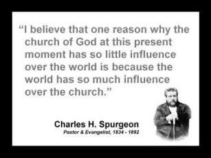Spurgeon world influence on church